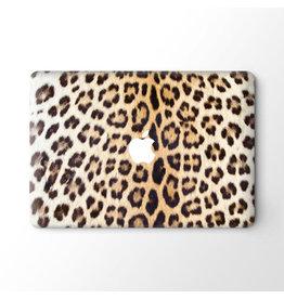 Lunso Lunso - vinyl sticker - MacBook Pro 16 inch - Leopard Brown
