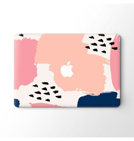 Lunso Lunso - vinyl sticker - MacBook Pro 16 inch - Memphis Pastel