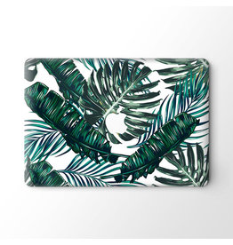 Lunso Lunso - vinyl sticker - MacBook Pro 16 inch - Green Leaves