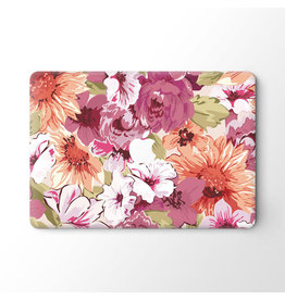 Lunso Lunso - vinyl sticker - MacBook Pro 16 inch - Flower Painting