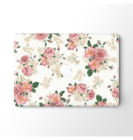 Lunso Lunso - vinyl sticker - MacBook Pro 16 inch - Flower Pink