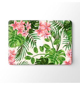 Lunso Lunso - vinyl sticker - MacBook Pro 16 inch - Summer Flowers