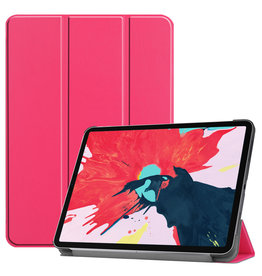 Lunso 3-Vouw sleepcover hoes - iPad Pro 11 inch (2020) - Roze