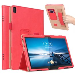 Lunso Luxe stand flip cover hoes - Lenovo Tab M10 - Roze