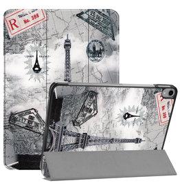 Lunso 3-Vouw sleepcover hoes - iPad Pro 11 inch (2020) - Eiffeltoren