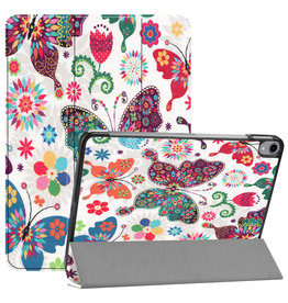 Lunso 3-Vouw sleepcover hoes - iPad Pro 11 inch (2020) - Vlinders
