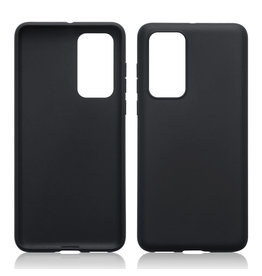 Qubits Qubits - Softcase hoes - Huawei P40 - Zwart