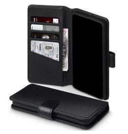 Qubits Qubits - luxe echt lederen wallet hoes - Huawei P40 Pro - Zwart