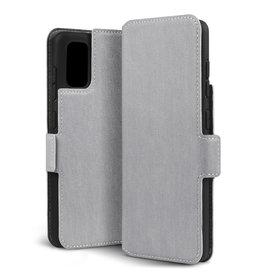 Qubits Qubits - slim wallet hoes - Samsung Galaxy A41 - Grijs