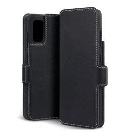 Qubits Qubits - slim wallet hoes - Samsung Galaxy A41 - Zwart