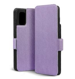 Qubits Qubits - slim wallet hoes - Samsung Galaxy A41 - Paars