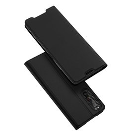 Dux Ducis Dux Ducis pro serie - slim wallet hoes - Sony Xperia 1 II - Zwart