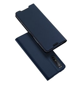 Dux Ducis Dux Ducis pro serie - slim wallet hoes - Sony Xperia 1 II - Blauw