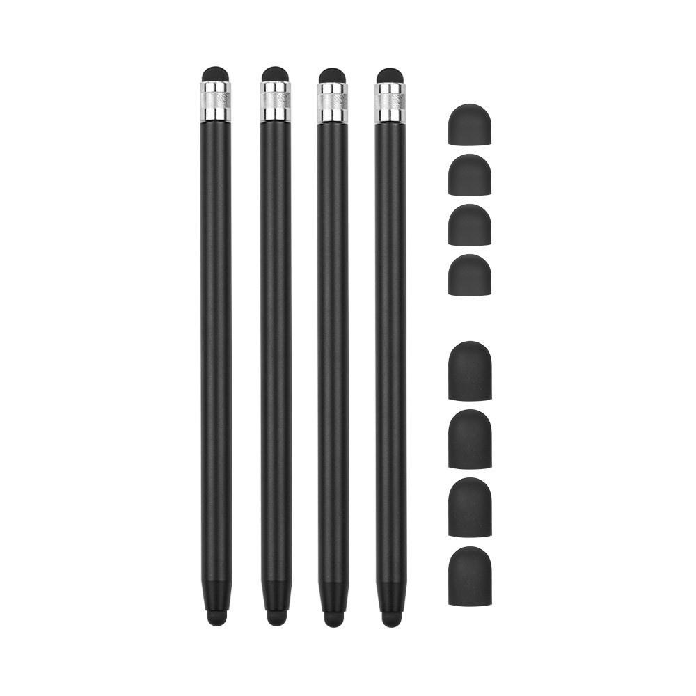 Lunso Stylus touchscreen pennetjes Zwart voor Smartphones, Tablets en E-readers