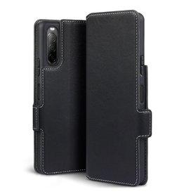 Qubits Qubits - slim wallet hoes - Sony Xperia 10 II - Zwart