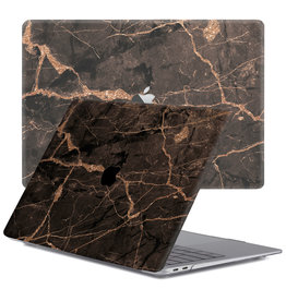Lunso Lunso - cover hoes - MacBook Air 13 inch (2018-2019) - Marble Blaro