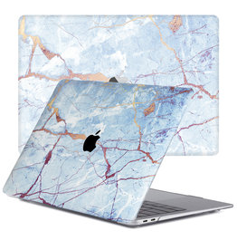 Lunso Lunso - cover hoes - MacBook Air 13 inch (2018-2019) - Marble Zelda