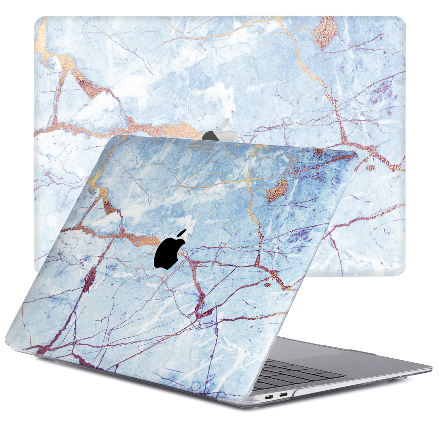 Lunso Marble Zelda cover hoes voor de MacBook Air 13 inch (2018-2019)