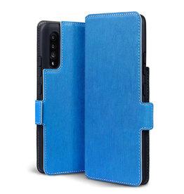 Qubits Qubits - slim wallet hoes - Samsung Galaxy A90 - Lichtblauw