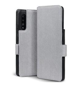 Qubits Qubits - slim wallet hoes - Samsung Galaxy A90 - Grijs