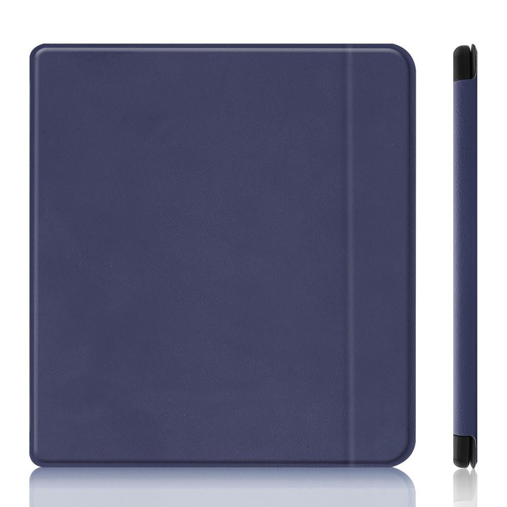 Lunso Sleepcover flip hoes Blauw voor de Kobo Forma (8 inch)
