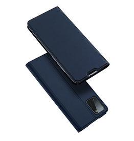 Dux Ducis Dux Ducis - pro serie slim wallet hoes - Samsung Galaxy A41 - Blauw
