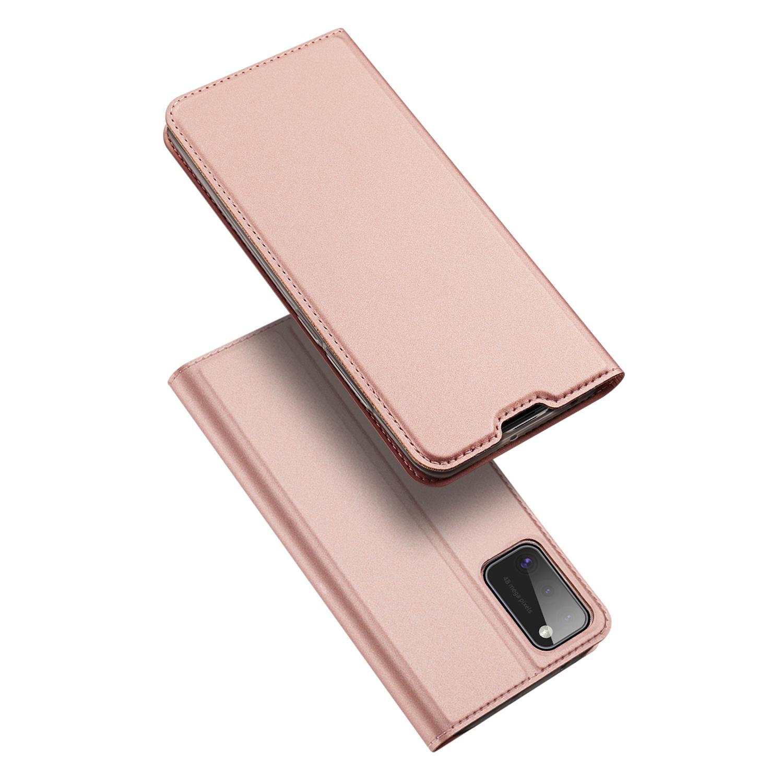 Dux Ducis Pro serie slim wallet Rose Goud hoes voor de Samsung Galaxy A41