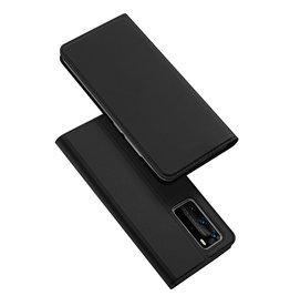 Dux Ducis Dux Ducis pro serie - slim wallet hoes - Huawei P40  Pro - Zwart