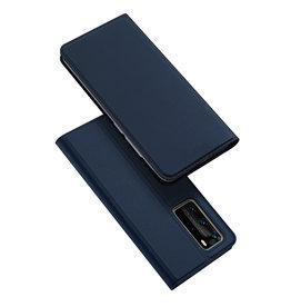 Dux Ducis Dux Ducis pro serie - slim wallet hoes - Huawei P40  Pro - Blauw