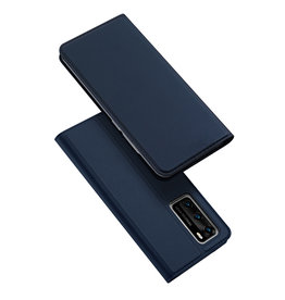 Dux Ducis Dux Ducis pro serie - slim wallet hoes - Huawei P40 - Blauw
