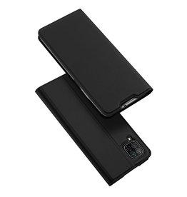 Dux Ducis Dux Ducis pro serie - slim wallet hoes - Huawei P40 Lite - Zwart