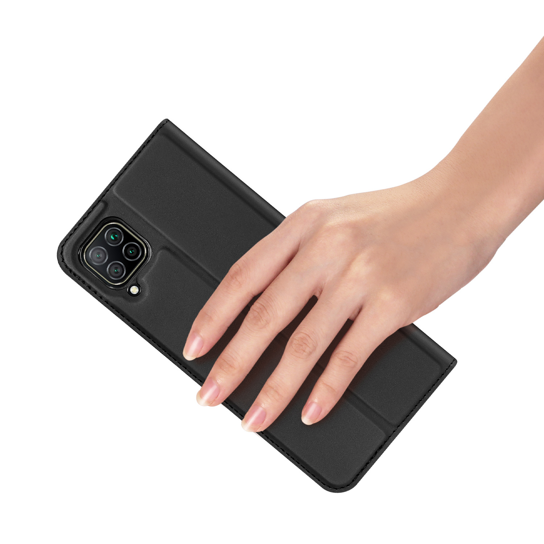 Dux Ducis Pro serie slim wallet Zwart hoes voor de Huawei P40 Lite