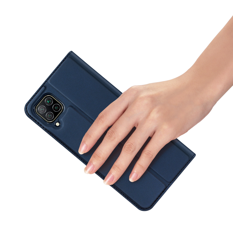 Dux Ducis Pro serie slim wallet Blauw hoes voor de Huawei P40 Lite