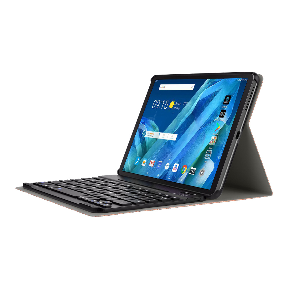 Lunso Afneembare Keyboard hoes Zwart voor de Lenovo Tab M10