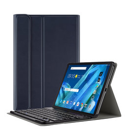 Lunso Lunso - afneembare Keyboard hoes - Lenovo Tab M10 - Blauw