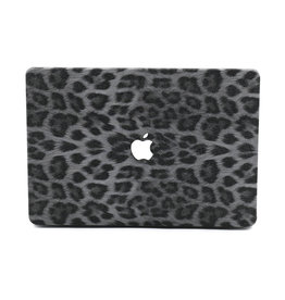 Lunso Lunso - cover hoes - MacBook Air 13 inch (2010-2017) - Leopard Pattern White