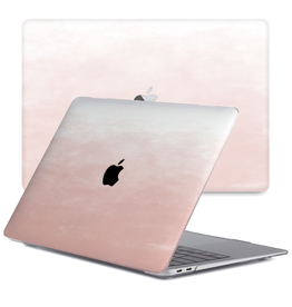 Lunso Lunso - cover hoes - MacBook Air 13 inch (2020) - Dutsy Pink