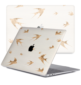 Lunso Lunso - cover hoes - MacBook Air 13 inch (2020) - Swallow