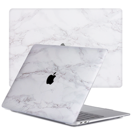 Lunso Lunso - cover hoes - MacBook Air 13 inch (2020) - Marble Cosette