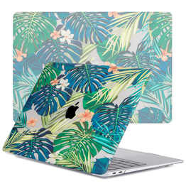 Lunso Lunso - cover hoes - MacBook Air 13 inch (2020) - Tropical Orange