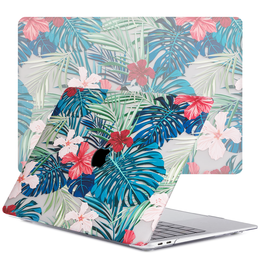 Lunso Lunso - cover hoes - MacBook Air 13 inch (2020) - Tropical Rood