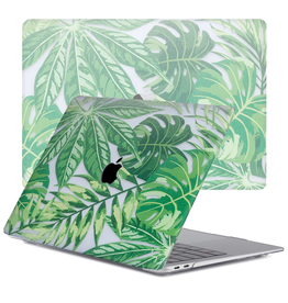 Lunso Lunso - cover hoes - MacBook Air 13 inch (2020) - Tropical Green