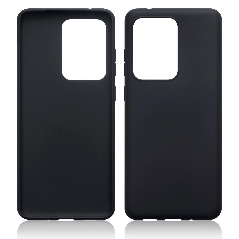 Qubits Softcase hoes Zwart voor de Samsung Galaxy S20 Ultra