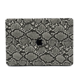 Lunso Lunso - cover hoes - MacBook Air 13 inch (2018-2019) - Snake Pattern Grey