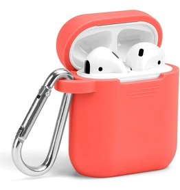 Lunso Lunso - Softcase cover hoes - AirPods 1 / 2 - Oranje