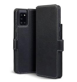 Qubits Qubits - slim wallet hoes - Samsung Galaxy A31 - Zwart