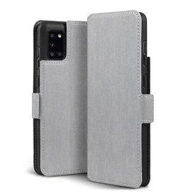 Qubits Qubits - slim wallet hoes - Samsung Galaxy A31 - Grijs