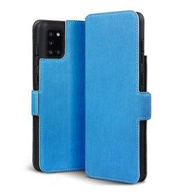 Qubits Qubits - slim wallet hoes - Samsung Galaxy A31 - Lichtblauw