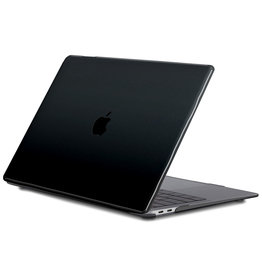 Lunso Lunso - cover hoes - MacBook Air 13 inch (2020) - Glanzend Zwart