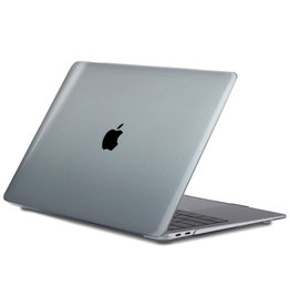 Lunso Lunso - cover hoes - MacBook Air 13 inch (2020) - Glanzend Transparant